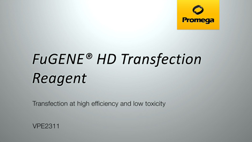 FuGENE HD Transfection Reagent Video